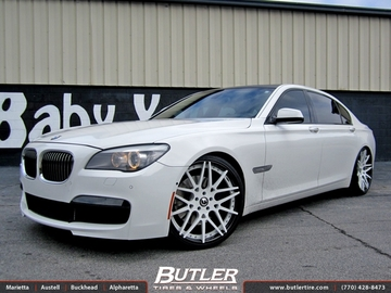 BMW 7 Series with 22in Forgiato Maglia ECL Wheels