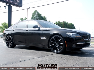 BMW 7 Series with 22in Lexani CSS15 Wheels