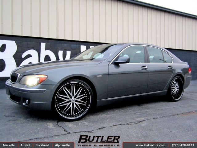 BMW 7 Series with 22in Lexani LX10 Wheels