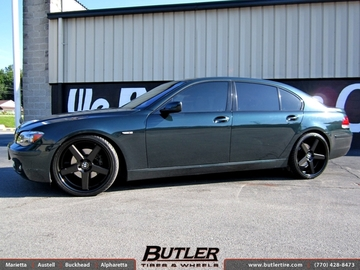 BMW 7 Series with 22in Niche Nurburg Wheels