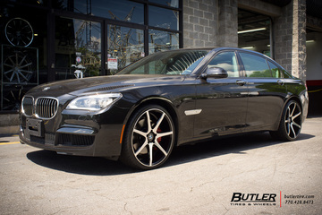 BMW 7 Series with 22in Savini BM10 Wheels