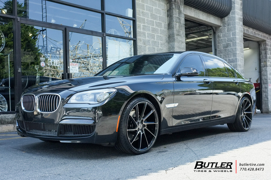 Lexus Of Atlanta >> BMW 7 Series with 22in Savini BM15 Wheels exclusively from Butler Tires and Wheels in Atlanta ...