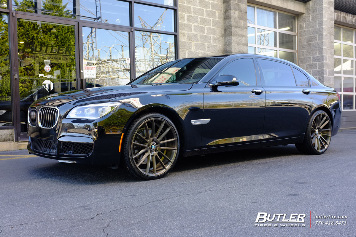 Bmw 7 Series With 22in Savini Bm9 Wheels Exclusively From
