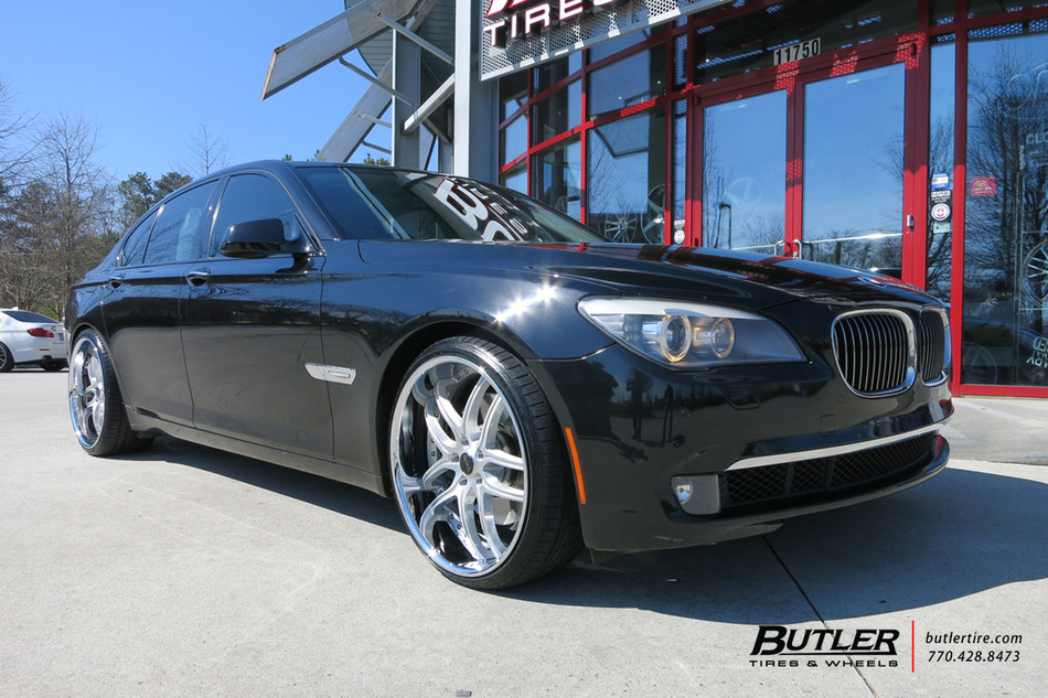 Lexus Of Atlanta >> BMW 7 Series with 22in Savini BS2 Wheels exclusively from ...