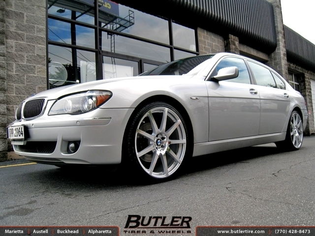 BMW 7 Series with 22in TSW Interlagos Wheels