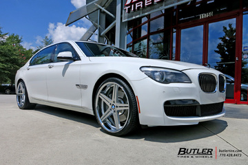 BMW 7 Series with 22in TSW Mirabeau Wheels