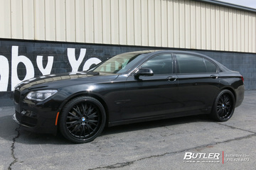 BMW 7 Series with 22in TSW Monaco Wheels
