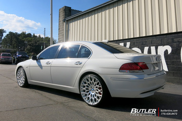 BMW 7 Series with 22in TSW Oslo Wheels