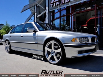 BMW 7 Series with 22in TSW Panorama Wheels