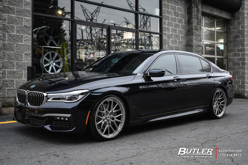 Audi Of Atlanta >> BMW 7 Series with 22in Vossen ML-X3 Wheels exclusively ...