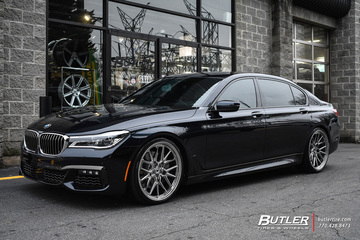 BMW 7 Series with 22in Vossen ML-X3 Wheels
