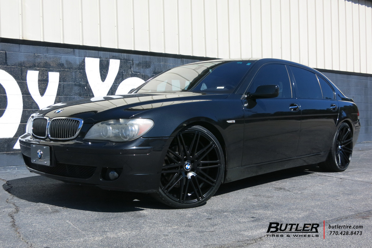 BMW 7 Series with 22in XO Milan Wheels