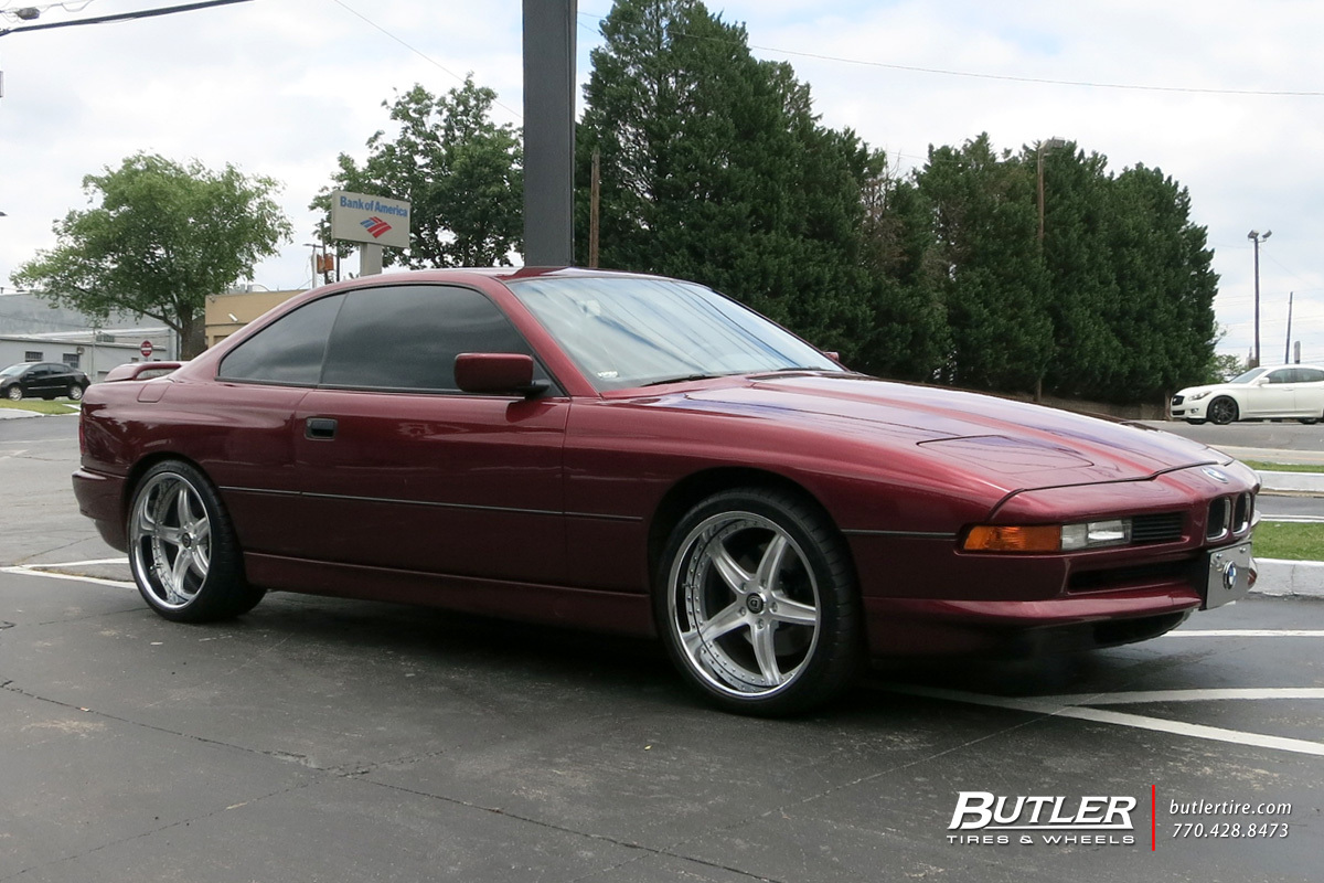 BMW 8 Series with 19in Lexani LF105 Wheels