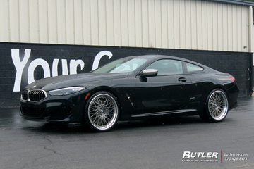 BMW 8 Series with 22in Avant Garde F141 Wheels