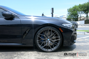 BMW 8 Series with 22in Avant Garde M520 Wheels
