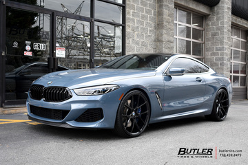 BMW 8 Series with 22in Savini BM14 Wheels