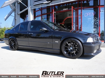 BMW M3 with 17in Beyern Bavaria Wheels