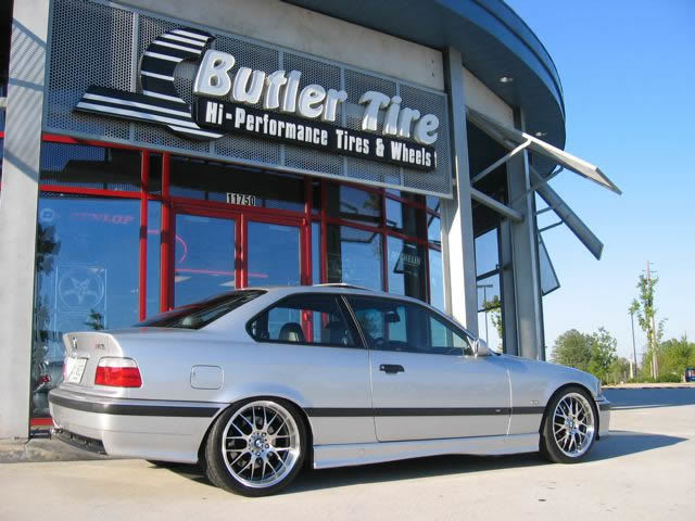 BMW M3 with 18in ASA AR-2 Wheels