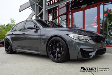 BMW M3 with 19in BC Forged RS41 Wheels