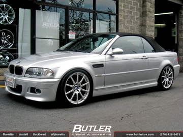 BMW M3 with 19in Beyern Bavaria Wheels