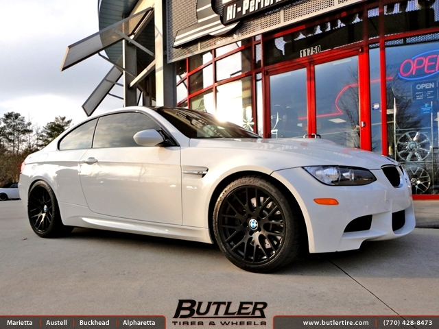 BMW M3 with 19in Beyern Spartan Wheels