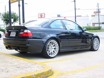 BMW M3 with 19in CSL Wheels
