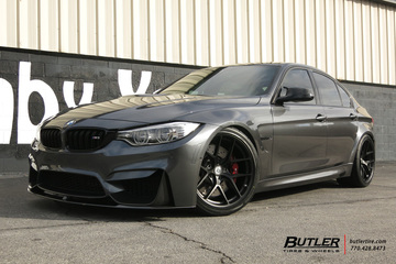 BMW M3 with 19in HRE R101 Wheels
