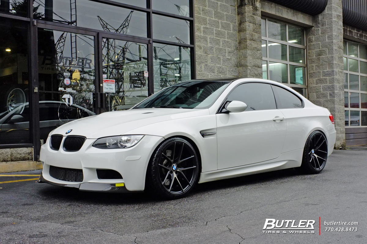 Bmw M3 With 19in Niche Targa Wheels Exclusively From