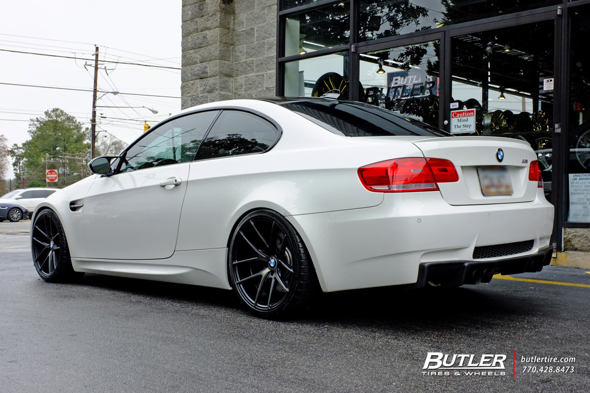 BMW M3 with 19in Niche Targa Wheels