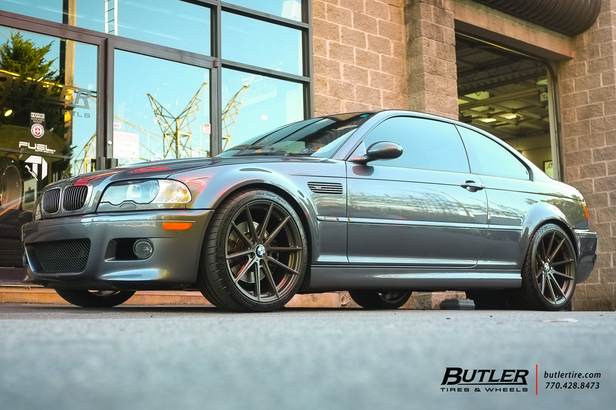 BMW M3 with 19in TSW Bathurst Wheels