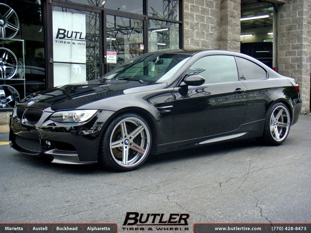 Bmw M3 With 19in Tsw Mirabeau Wheels Exclusively From