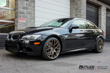 BMW M3 with 19in TSW Nurburgring Wheels