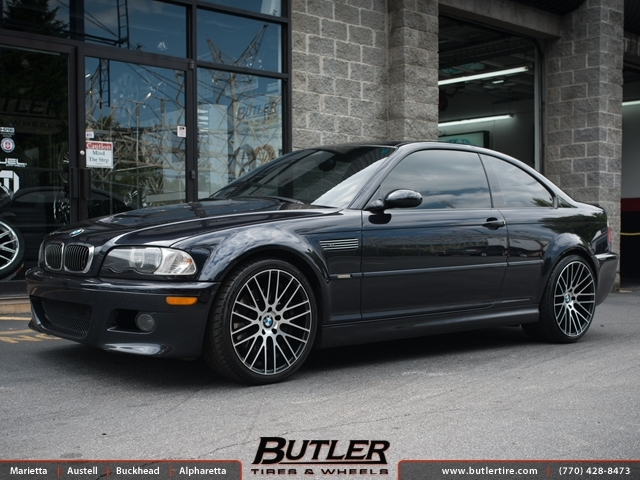 BMW M3 with 19in TSW Parabolica Wheels