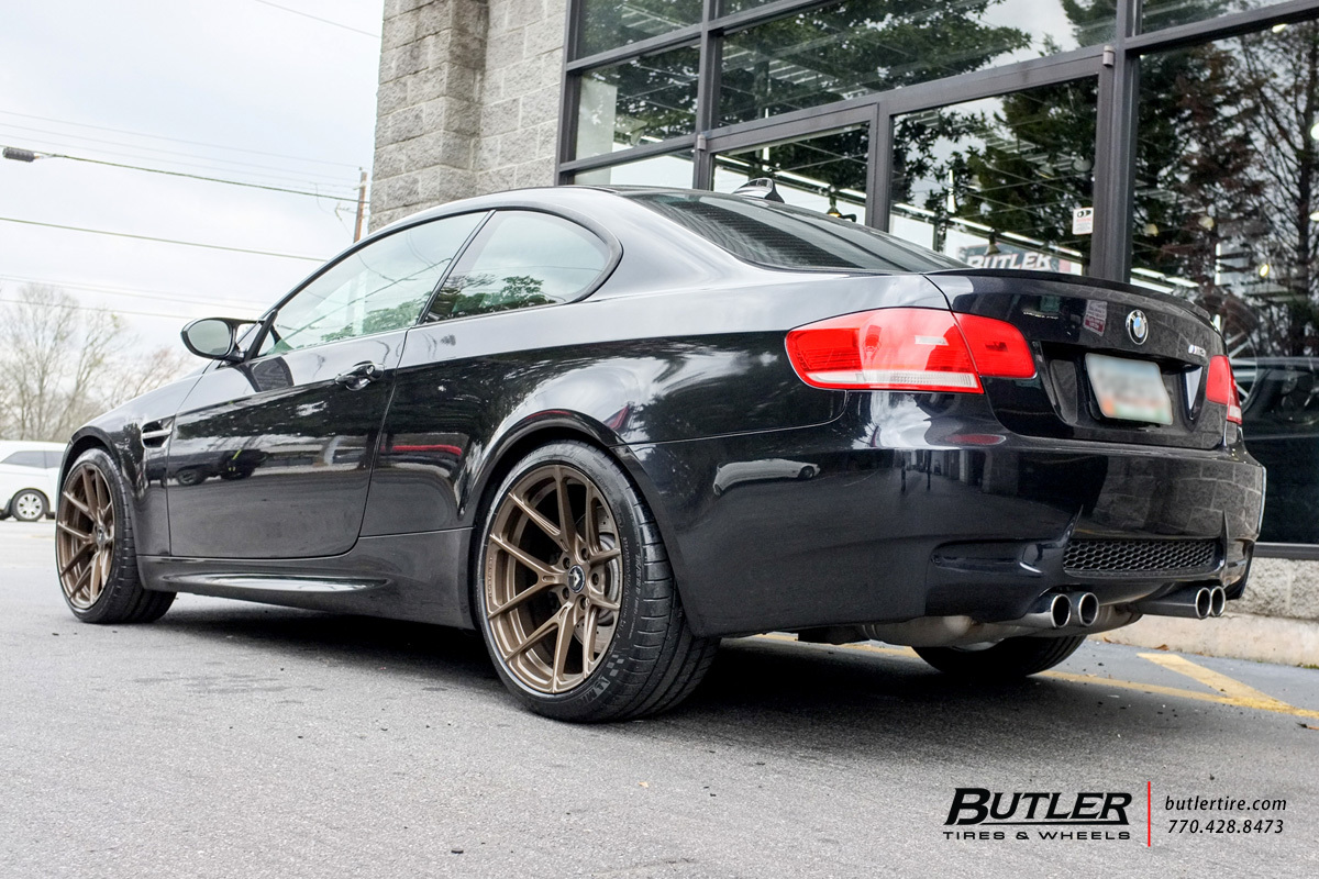 BMW M3 with 19in Vorsteiner V-FF 101 Wheels