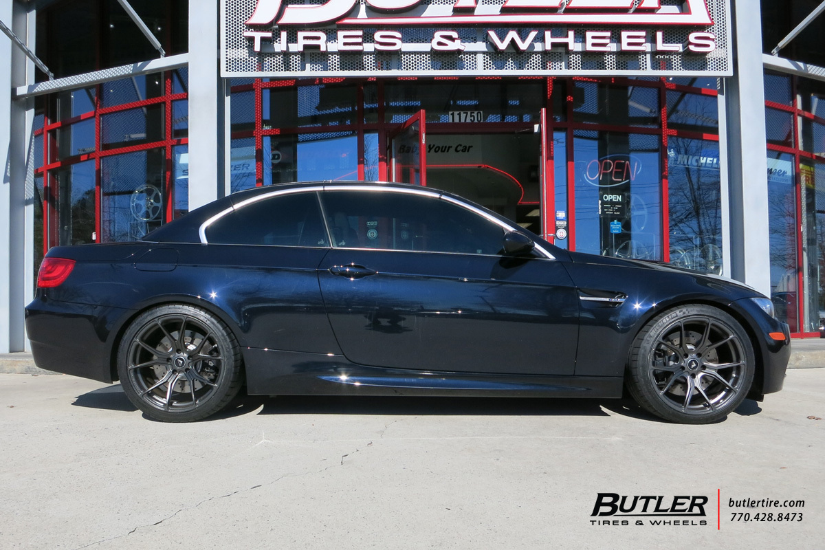 BMW M3 with 19in Vorsteiner V-FF 103 Wheels
