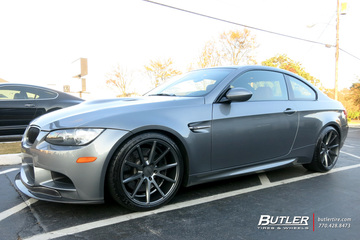 BMW M3 with 19in Vossen VFS1 Wheels