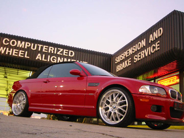 BMW M3 with 20in ASA AR-1 Wheels