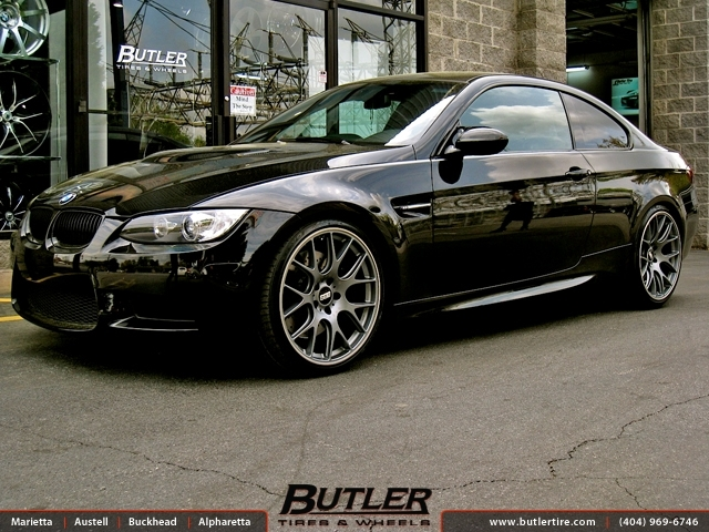 BMW M3 with 20in BBS CH-R Wheels