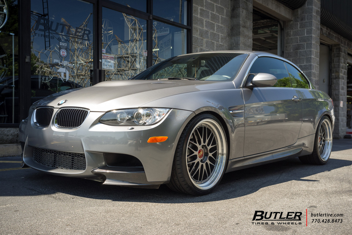 Bmw M3 With 20in Bbs Lm Wheels Exclusively From Butler
