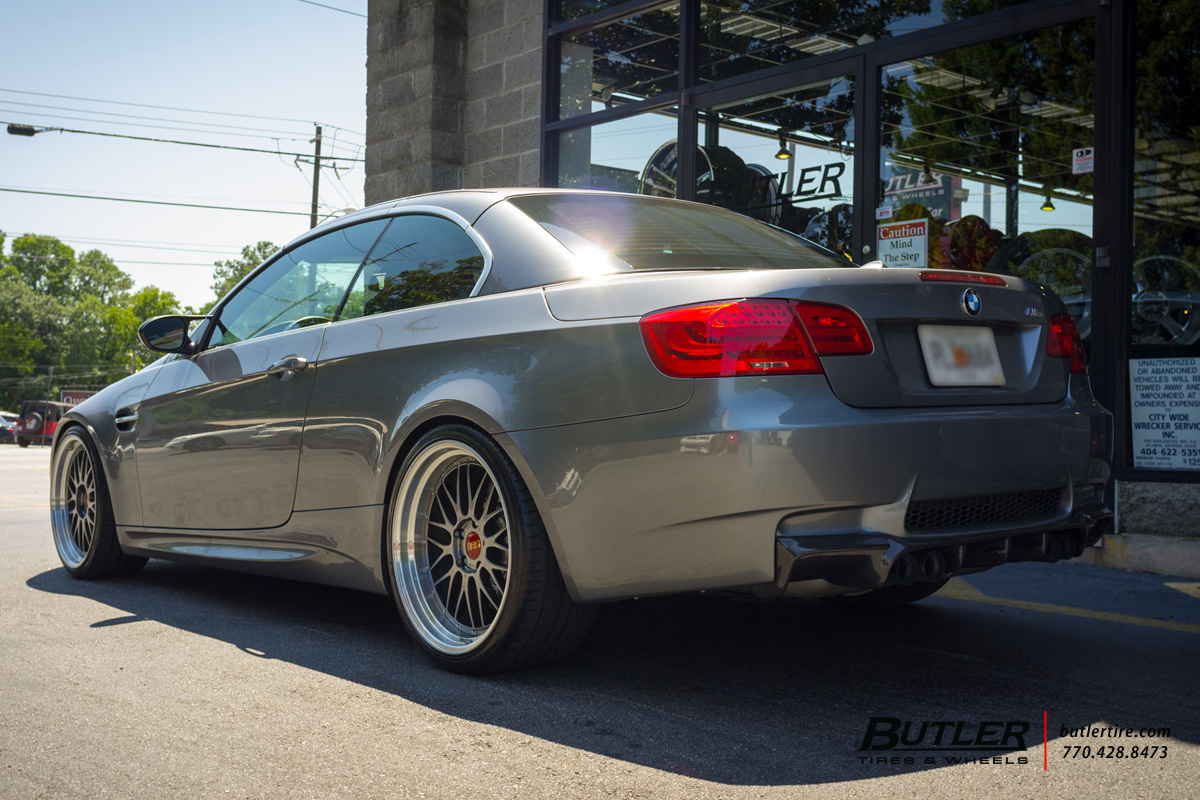 BMW M3 with 20in BBS LM Wheels