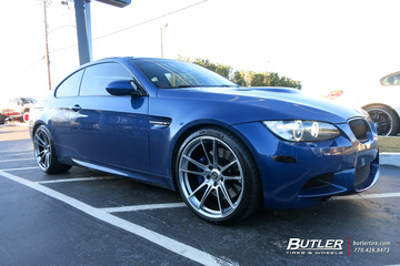 BMW M3 with 20in HRE FF04 Wheels