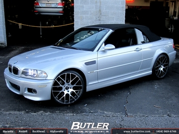 BMW M3 with 20in Niche Circuit Wheels