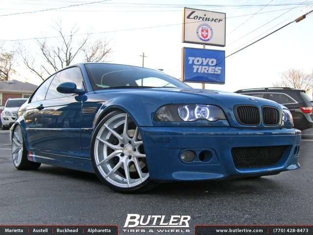 BMW M3 with 20in Niche Targa Wheels