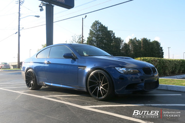 BMW M3 with 20in Savini BM15 Wheels