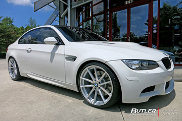 BMW M3 with 20in TSW Bathurst Wheels