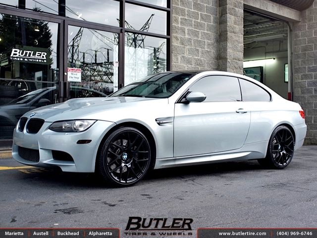 BMW M3 with 20in TSW Nurburgring Wheels
