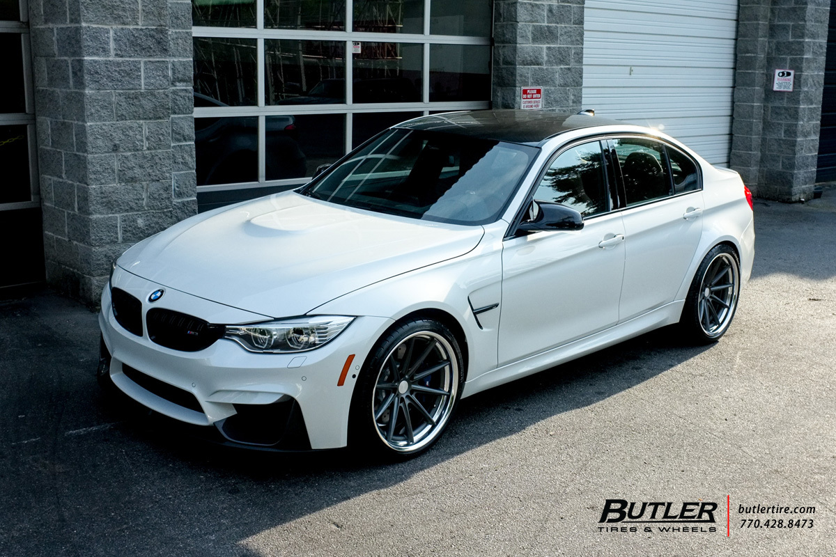 Bmw M3 With 20in Vossen Vws1 Wheels Exclusively From