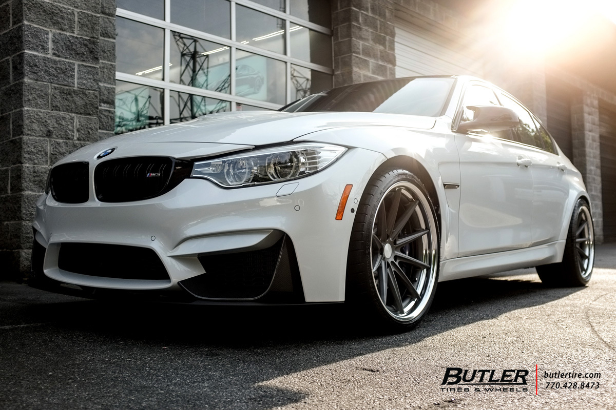 BMW M3 with 20in Vossen VWS1 Wheels
