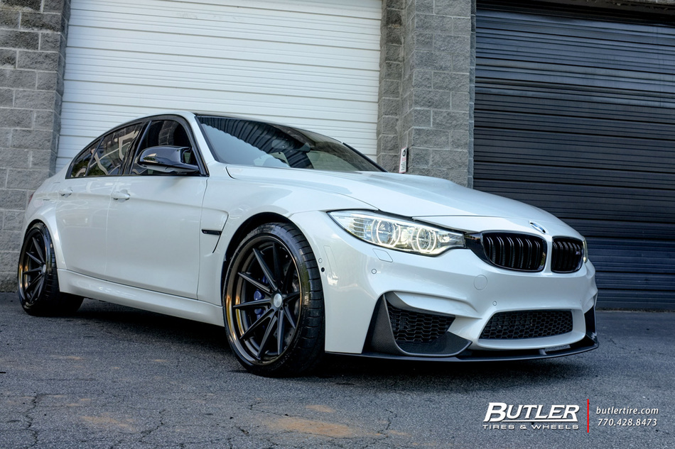 Bmw M With In Vossen Vws Wheels Large on Volvo Truck Rims