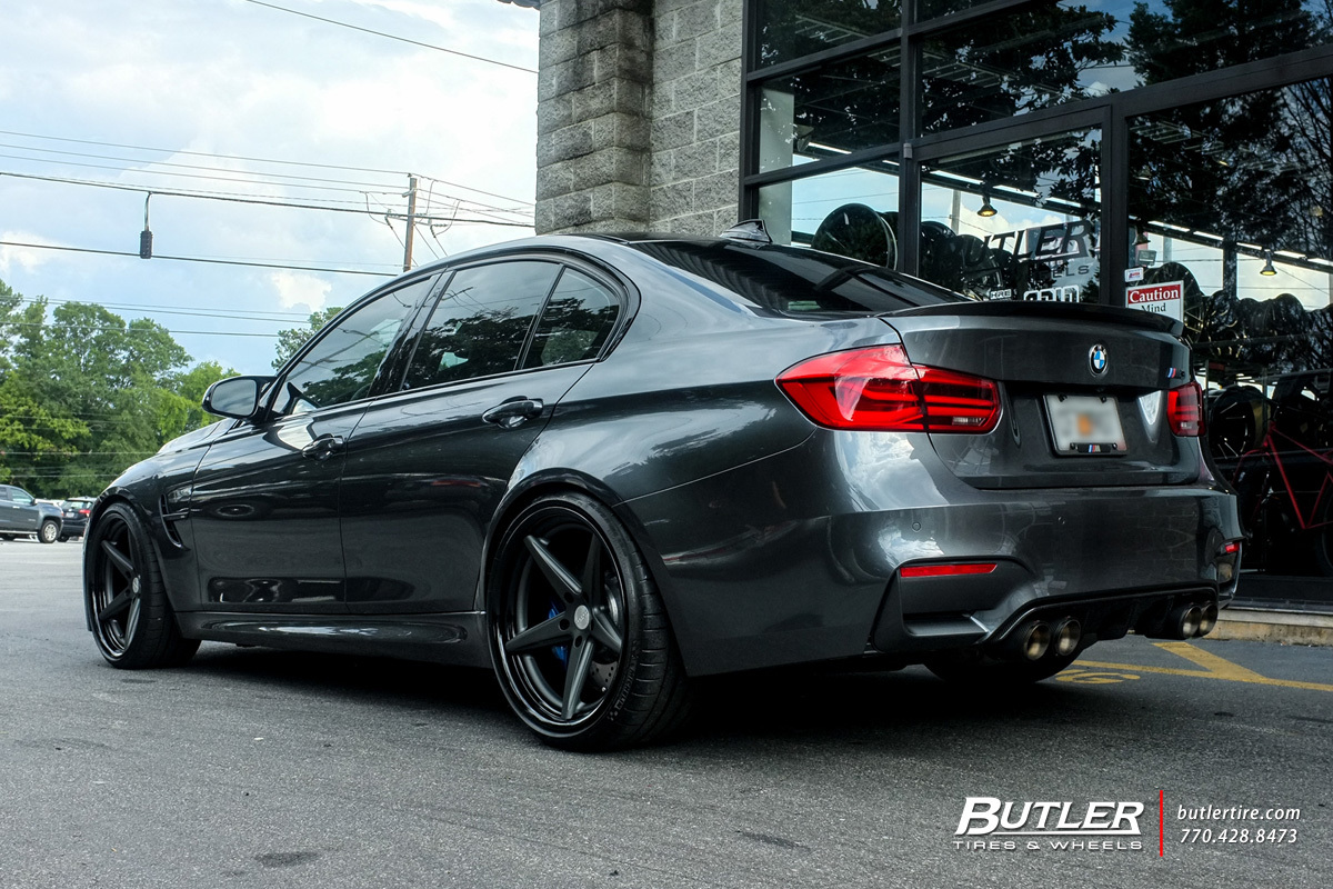 BMW M3 with 20in Vossen VWS3 Wheels